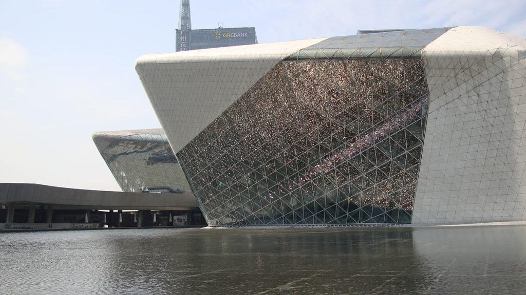 L'opéra de Guangzhou de l'architecte Zaha Hadid, où nous terminerons notre périple asiatique 2018.