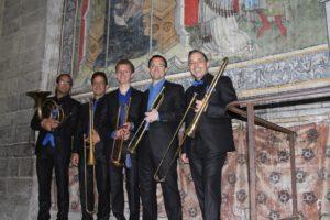 Le Geneva Brass Quintet sur instruments baroques